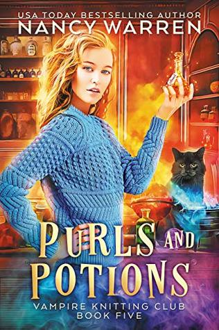 Book Review Purls And Potions By Nancy Warren Way Too Fantasy