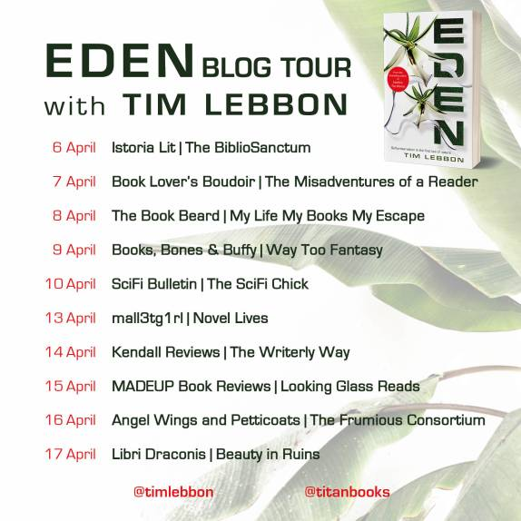 Eden Blog Tour Banner